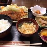 しまだ - ロースカツ定食 ¥900
