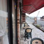 オーシャンパシフィックカフェ - 国道沿いのカフェ