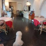 オーシャンパシフィックカフェ - 奥に厨房