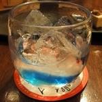 轟屋 - 残波(白)グラス ¥550(税抜)