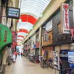 堀内酒店 - 天五中崎通り商店街にあります