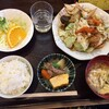中華料理ニイハオ - 料理写真:豚肉とキャベツの味噌炒め定食(ご飯は小盛です)