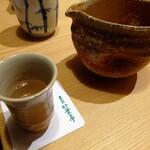 竹葉亭 - 冷酒「〆張鶴」
