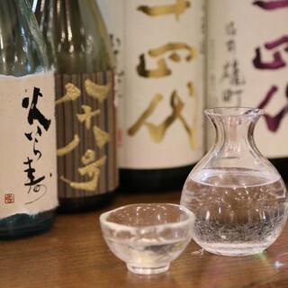 希少な日本酒もあり♪和洋の銘酒を幅広くご用意しております
