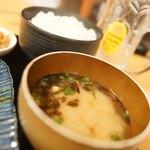 産直仕入れの北海道定食屋 北海堂 - あおさ汁