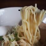 124763109 - 鶏塩そば(麺)