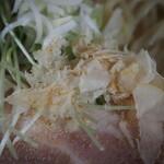 馬鹿坊 - 鶏塩そば(鶏節)