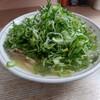 白龍 - 料理写真:ラーメンネギ盛り