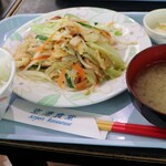 Kuukoushokudou - ふーチャンプルー定食