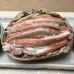 呉竹鮨 - 料理写真:松葉蟹、一杯分です