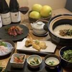 創作天ぷらと炭焼きワイン はかたあゆむ -