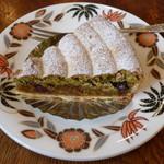 ティーハウス ムジカ - ケーキセットのマラケシュ(紅茶とセットで\800、単品の場合は\450、2012年3月)