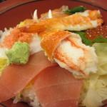 がんこ寿司  - ちらし寿司¥1380