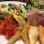 イタリアンレストラン ピッコロモンド - 前菜盛り合わせ(2人前)