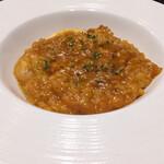 イタリアンレストラン ピッコロモンド - 魚介のトマトリゾット