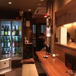 日本酒と蕎麦 中野いざ宵 - 内観