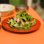 NARI屋 - 蒸し鶏冷菜