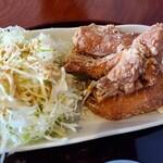 鶏の白石 - 唐揚げぶつ切り