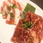 焼肉レストラン平城 - 美鮮豚と上ハラミ