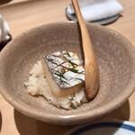 たつ庄 - 料理写真:○鰆の蒸し鮨様