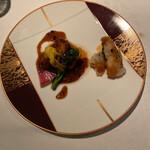 中国料理 XVIN - 中華風ステーキ、春巻