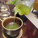 ザ リビングルーム - 煎茶 抹茶ブレンド京都コトシナ 1杯目は注いで下さいます