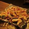 Sumiyakijinambou - 料理写真:地鶏のミックスです。男二人で十分な量でした。