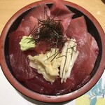 鮨政 - ・中トロ 赤身丼 具だけ大盛 1,400円(税抜)