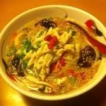 レストラン三宝 - 好爽湯麺 金印 (892円)
