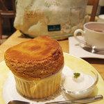 Cafe Raffine - キャラメルスフレ