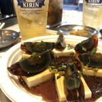 ダパイダン 105 - セパレートなピータン豆腐