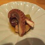 祇園たけうち - 蛸と蕗の炊いたん