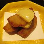 祇園たけうち - 海老芋とチーズ