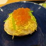 祇園たけうち - 蟹の蒸し寿司