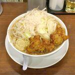 麺屋武一 - 注文してから10分ほどで「ガチ盛り麺(麺大盛り)」が完成!