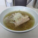 眞麺 穂高 - 塩(750円)