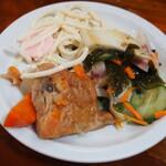 瑠玖&魚平 - お通しのお惣菜