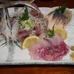 瑠玖&魚平 - 料理写真:本日のお刺身