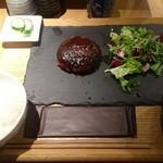 板バ酒バ魚 - ハンバーグ定食