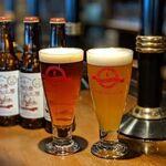 ビアレストラン 門司港地ビール工房 - タップから直接冷えたグラスに注ぎます。瓶詰もしておりますのでお土産にも最適!