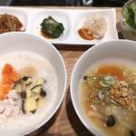 ベジフルキッチン - 鶏お粥セット¥1200