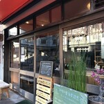 自家焙煎コーヒーcafe・すいらて - 北長狭通7丁目、モダン寺前、「加集製菓店」と「MOON MILK」との並びです(2020.2.4)
