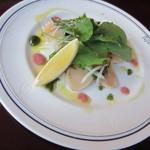 ソロピッザ - ホタテの前菜