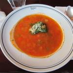 ソロピッザ - スープ
