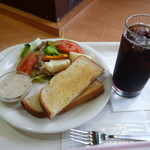 BECK'S COFFEE SHOP  - ニューモーニング サラダプレート