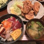 お食事処 石 - 海鮮と鶏唐