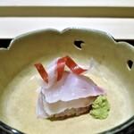 紀茂登 - 白甘鯛のお造り