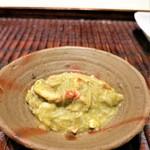 紀茂登 - 間人蟹の蟹味噌和え