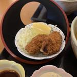 味の民芸 - 牡蠣フライ