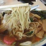 北斗 - 中細ウエーブのある麺